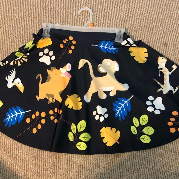 7d17cccbe2 Disney Skirts | Lion King Circle Skirt | Poshmark